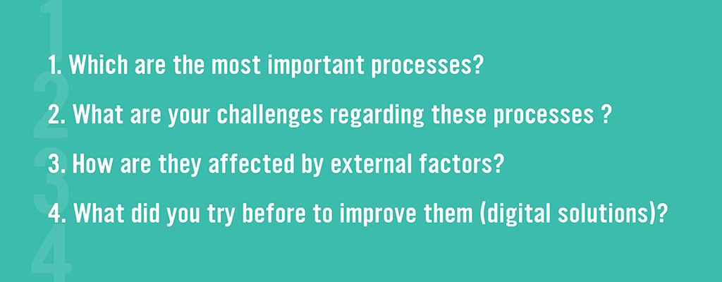 Steps to perform to find out the current challenges